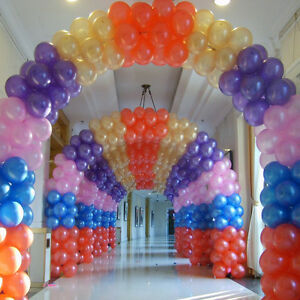 100pcs-Pearl-Latex-Ballons-Party-Wedding-Birthday-Decor-10-inch-NEW