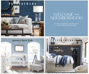 Details about Pottery Barn Teen 15% OFF Entire Purchase In Store or Online  Expires 10/31/2019