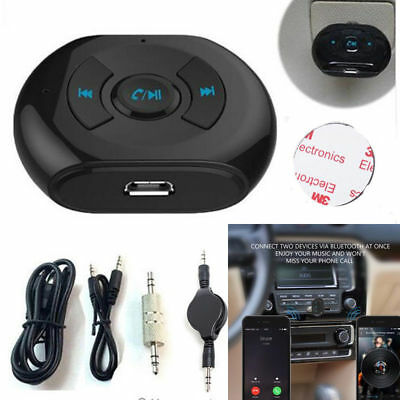 Car Suv Handsfree Bluetooth Audio Stereo MP3 Music Player Aux Receiver Adapter