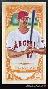 Shohei Ohtani 2020 Topps Gypsy Queen Fortune Teller Insert #1 Los Angeles Angels