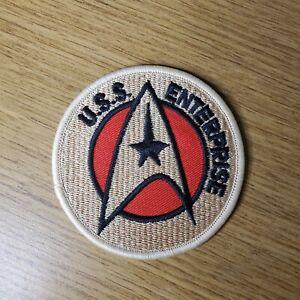 Star Trek Starfleet Uss Enterprise Clásico Parche 7.6cm Ancho