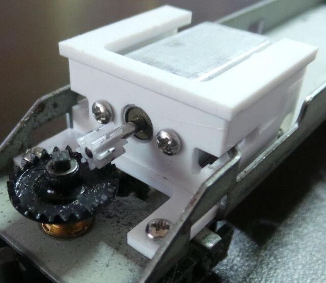 HO Kit moteur pour re-motorisation des locomotives Jouef chassis métallique