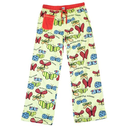 LazyOne Womens Butterfly Kisses Fitted PJ Trousers