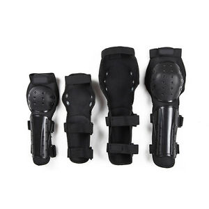 Hot!Armor&amp;Elbo<wbr/>w Gear 4pcs Motorcycle Bicycle Racing Knee Pads Protective Guards