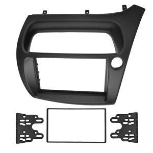 Double-Din-Radio-Fascia-for-Honda-Civic-Dash-Mount-Kit-DVD-Stereo-Panel-Frame
