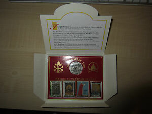 Vatican Jubilee 2000 Coins Medaille + Timbres Inrgm2s6-08001800-364282599