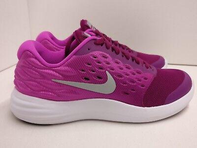 Nike Lunarstelos Pink Silver Womens