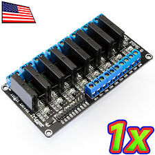 [1x] 8 Channel 240V 2A Solid State Relay SSR Module AC DC Arduino Raspberry Pi