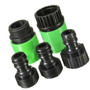 5Pcs-Garden-Tap-Water-Hose-Pipe-Connector-Quick-Connector-Adapter-Fitting-Water
