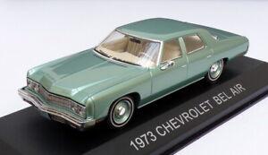 Premium-X-1-43-escala-70015-1973-Chevrolet-Bel-Air-Verde-claro