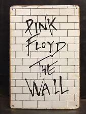 PINK FLOYD THE WALL  CONCERT POSTER VINTAGE RETRO STYLE METAL SIGN  16x12 CM