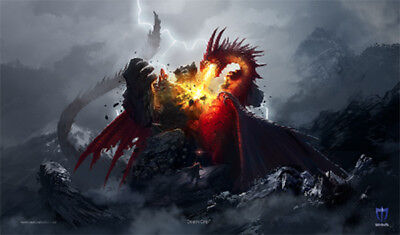 Dragon Fury Playmat Max Protection GAMING SUPPLY BRAND NEW ABUGames