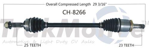 For Jeep Compass Patriot Dodge Rear Driver Left CV Axle Shaft SurTrack CH-8266
