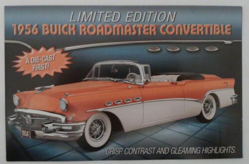 Free US Shipping Brochure 1956 Buick Roadmaster Convertible Danbury Mint