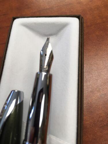 "Cross ATX Spruce Green Fountain Pen ""B"" Nib"