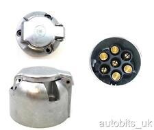 Towbar Towing Electrics 7 PIN METAL ALLOY SOCKET 12N NEW