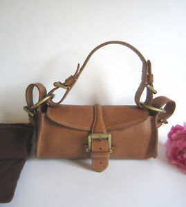 Image Is Loading Mulberry Leather Small Pochette Shoulder Handbag Mint 100