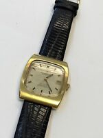 VINTAGE OMEGA CONSTELLATION MEN'S AUTOMATIC DATE GOLD PL. CHRONOMETER WATCH !!!
