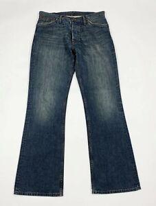 Pepe-london-jeans-uomo-usato-W34-L34-tg-48-bootcut-zampa-denim-boyfriend-T6147