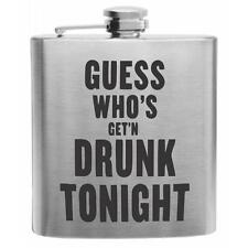 ACDC Stainless Steel Hip Flask 6oz classic rock n roll gift