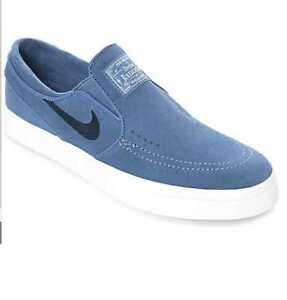 NEW MENS WOMENS NIKE ZOOM JANOSKI SLIP ON CPSL BLUE MOON SKATE SHOES 877401-441