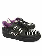 Unisex Nike Air Force 1 Size Mens 10 Women's 12 Zebra Hair Vintage