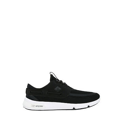 NEW Sperry 7 Seas Sneaker Shoe Black