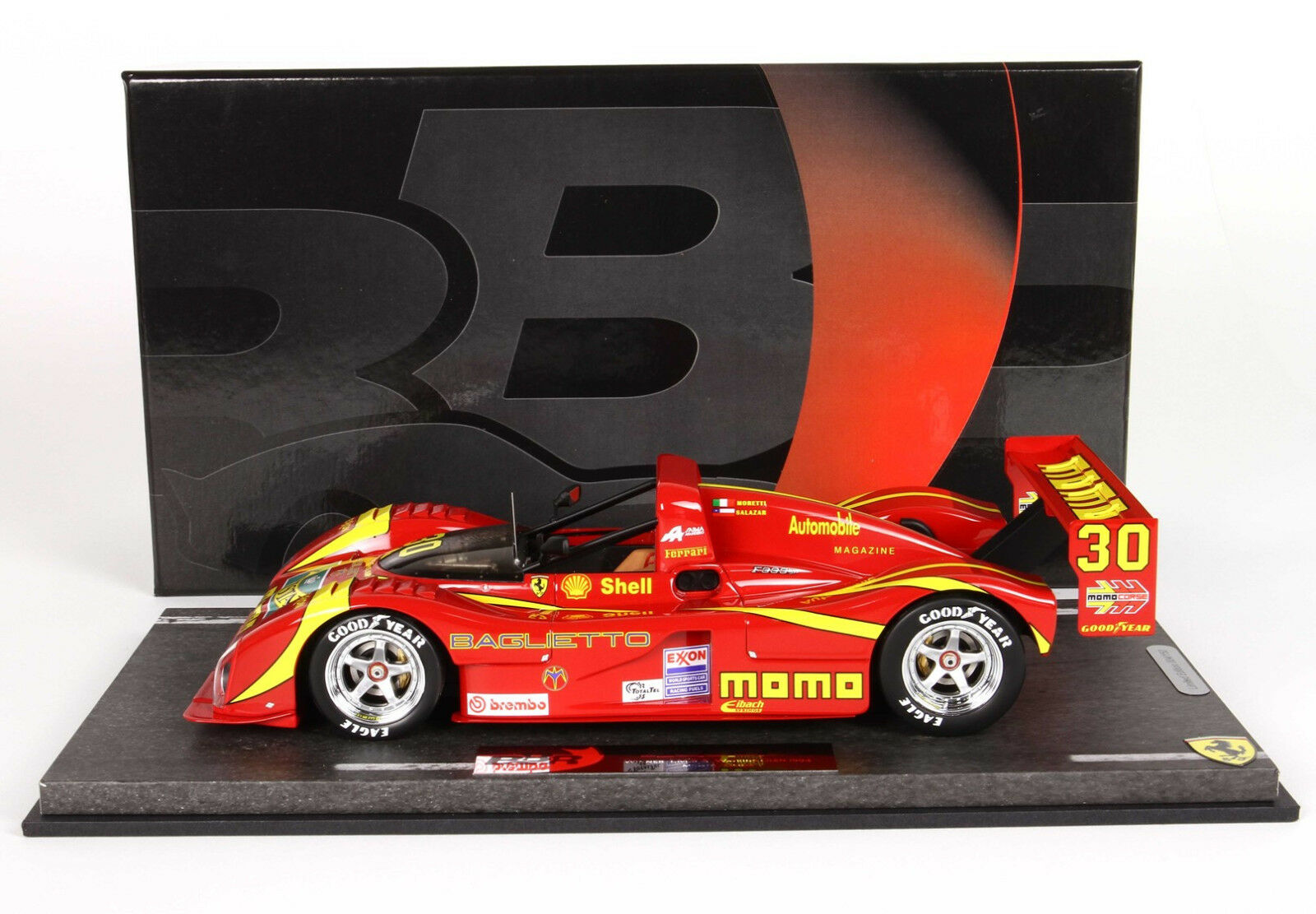 Ferrari 333 SP Winner IMSA 2018 MOMO  lim.ed. 4pcs BBRC1819B