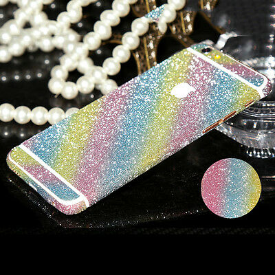 Bling Glitter Sparkling Skin Sticker Protector Wrap For Apple iPhone 6 Plus 5.5""