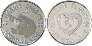 23c6d51afba Image is loading TY-Beanie-Baby-BBOC-Mint-SILVER-COIN-SQUEALER-