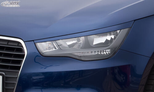 phare couvre eye brows abs -01//2015 Audi A1 8X /& A1 8XA sportback