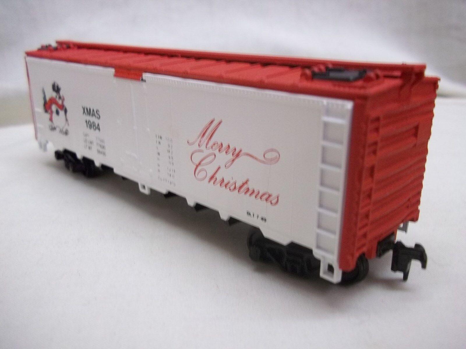 ATHEARN CON-COR CHRISTMAS TRAIN LMTD edizione 1984 ICE ICE ICE BUNKER REEFER HO SCALE nuovo 5f6d84