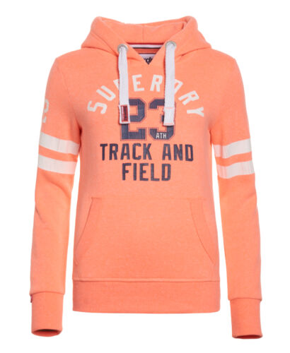 Coral Womens New Hoodie amp; Superdry Snowy Punch Field Track wYgqH