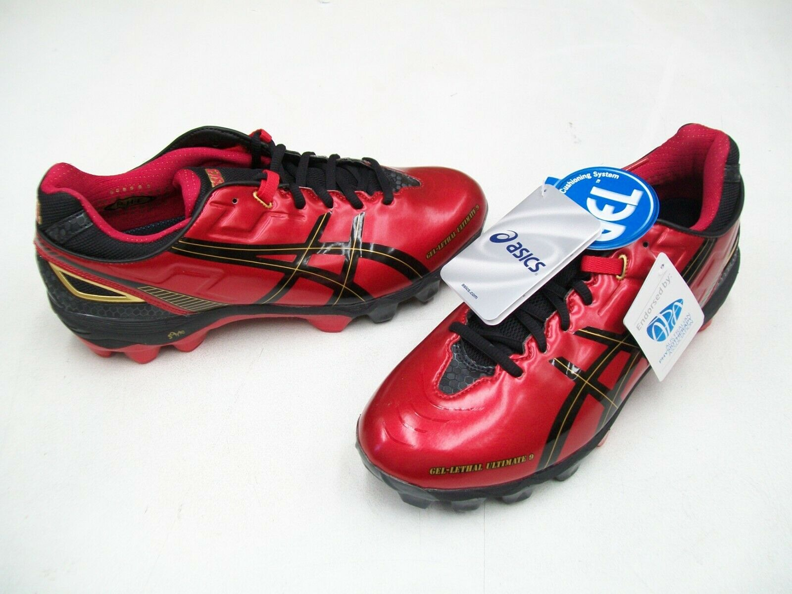 ASICS GEL LETHAL ULTIMATE IGS 9  MENS FOOTBALL SOCCER BOOTS SHOES US 9.5