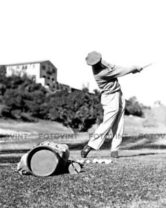 Details About Ben Hogan Photo Picture Vintage Golf Perfect Swing B W Print In 8x10