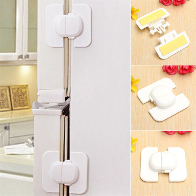 3X KidBaby Child Door Drawer Fridge Kitchen Toliet Cabinet Cupboard Safety Locks