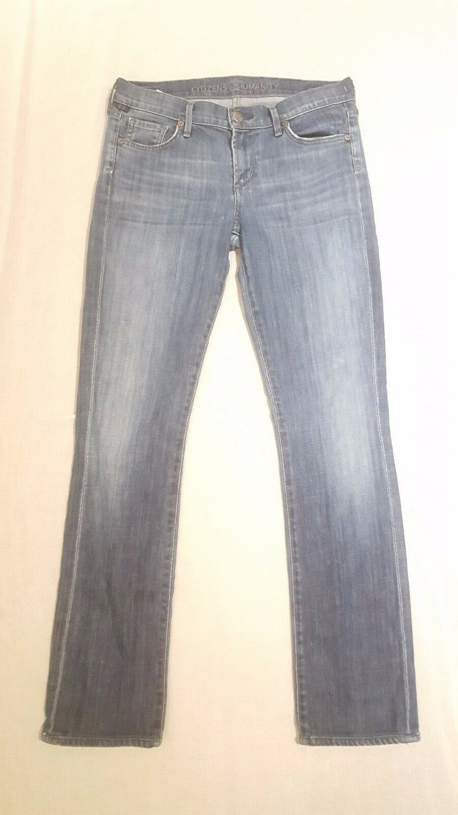 Citizens of Humanity Ava Straight Leg Jeans in Decade Size 27 X 30