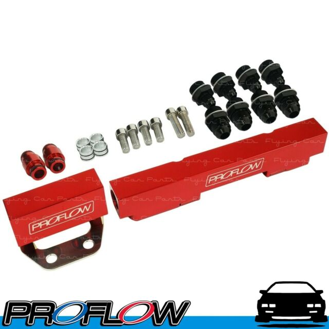 PROFLOW Mazda Rotary Series 4 & 5 Fuel Rail Kit Flow 2 Red