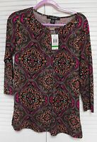 Women's Top By 89th & Madison. Size: Large, - Multicolors