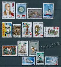 Rumänien 2001 Mi.5584-98 **Freimarken,AUFDRUCKMARKEN,selten angeboten,RAR