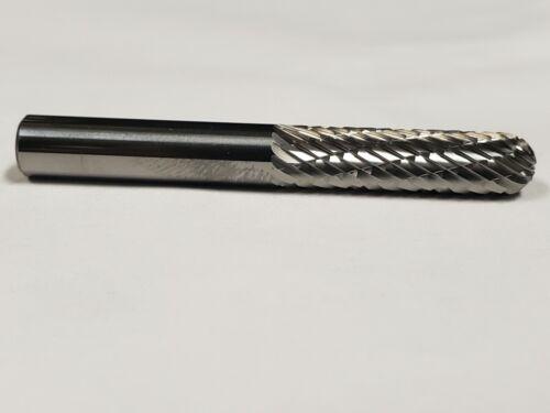 """SC1LD Cylindrical Tungsten Carbide Burr Bur Cutting Tool Die Grinder Bit 1//4/"""""""