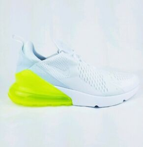 super popular 091ab 2387a Image is loading Nike-AIR-MAX-270-Running-Shoes-White-Volt-
