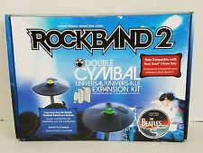 Mad Catz Rockband 2 Double Cymbal Universal Expansion Kit Xbox 360 Wii PS3