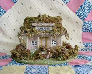 Unfinished paper mache houses