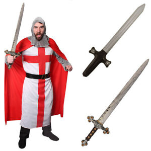 Knight Costume Accessory Toy Knight Sword Medieval Crusader or Viking Sword