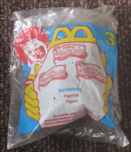 WALT DISNEY JUNGLEBOOK  BAGHEERA #3 ACTION FIGURE 1997 McDonald/'s