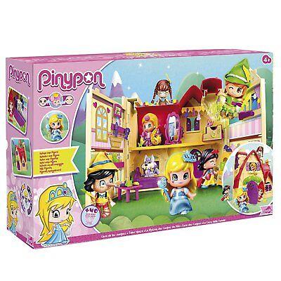 SET SCATOLA Pinypon Famosa Casa delle Favole Con 40 Acc Principesse Bambole Fate