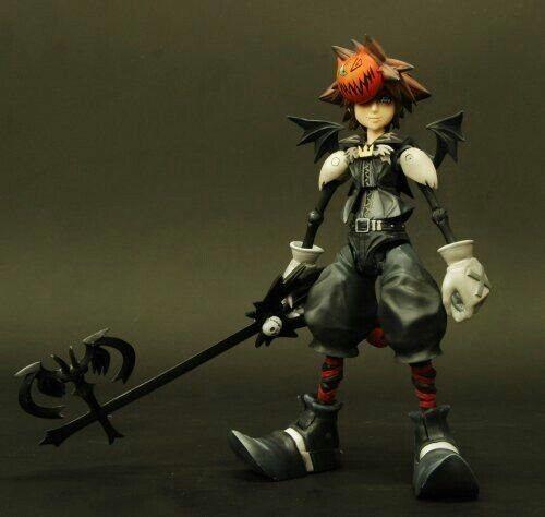 Kingdom Hearts Hearts Hearts Play Arts Kai Vol.2 Nightmare Before Christmas Figura (SIGILLATO) 6d9525