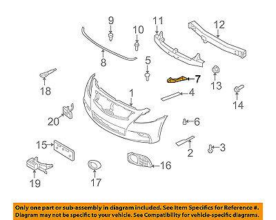 IN1026100 Bumper Bracket for 09-13 Infiniti G37