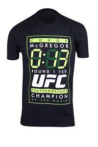 UFC-Mens-Conor-McGregor-13-Seconds-T-Shirt-Black